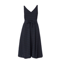 Mater Stripe A-Line Dress