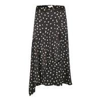 Rafaela Shamrock Print Midi Skirt