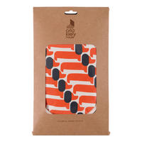 Persimmon Dachshund Double Oven Gloves