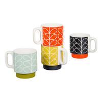 Linear Stem Stacking Espresso Mugs