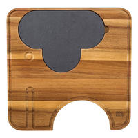 Ela Elephant Cheese Board with Knives