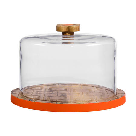 Wooden Serving Dome