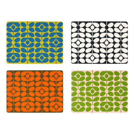 60's Stem Placemats Set of Four