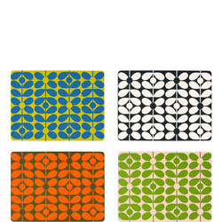 60's Stem Placemats Set of Four
