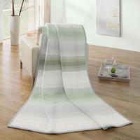 Blanket Cotton Stripe Olive