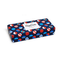 Four-Pack Nautical Socks Gift Box