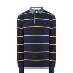 Rugger Breton Stripe Sweat Top