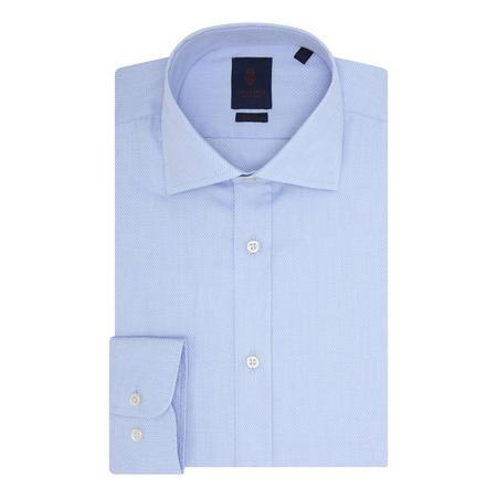 Chain Weave Print Shirt