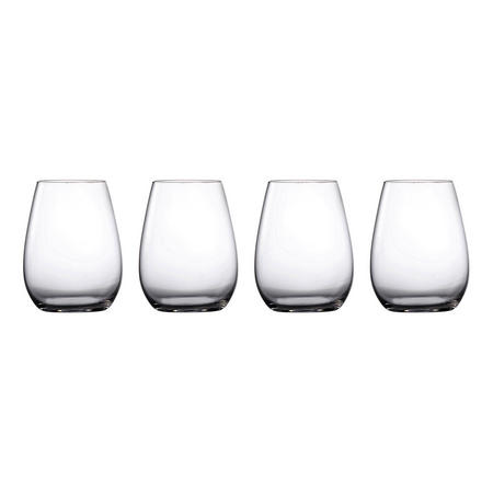 Moments Stemless Wine Set of Four