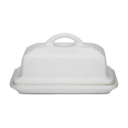 Stoneware Butter Dish Cotton