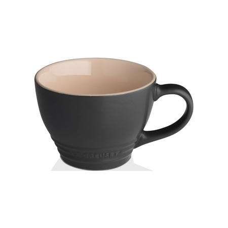 Stoneware Grand Mug Satin Black