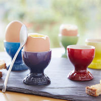 Stoneware Egg Cup Cerise