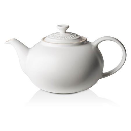 Stoneware Classic Teapot 1.3L Cotton