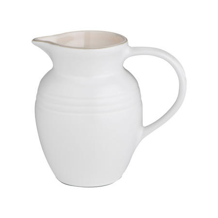 Stoneware Breakfast Jug 600ml Cotton