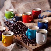 Stoneware Espresso Mug Cerise