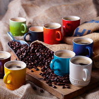 Stoneware Espresso Mug Coastal Blue