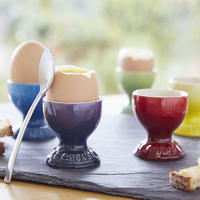 Stoneware Egg Cup Satin Black