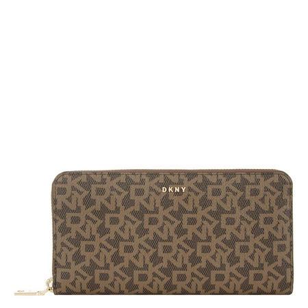 Tiled Bryant Zip-Around Wallet