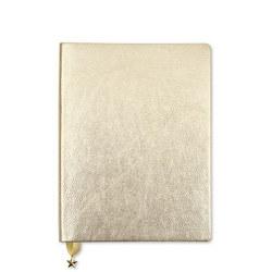 All That Glitters Journal  Metallic Light Gold