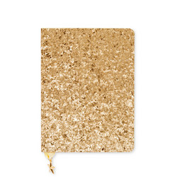 All That Glitters A6 Notebook Gold