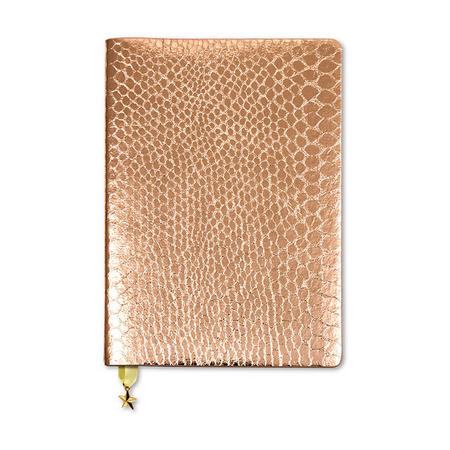 All That Glitters A5 Notebook Rose Copper