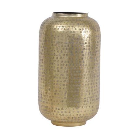 Aluminium Textured Vase