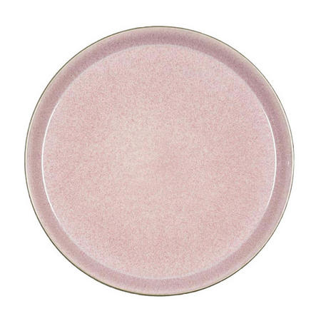 Large Pink Dining Plate