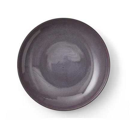 Large Lilac Serving Dish