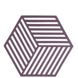 Hexagon Purple Trivet
