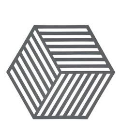 Hexagon Grey Trivet