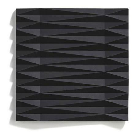 Origami Black Trivet