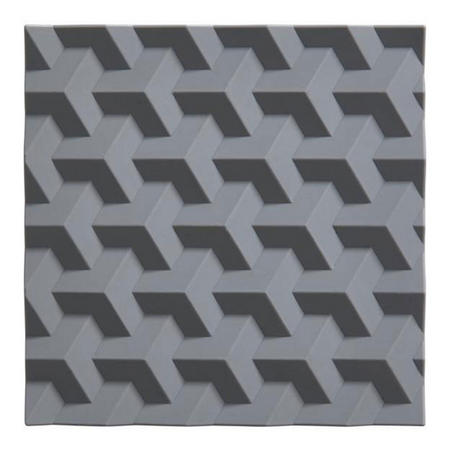 Gridline Grey Trivet