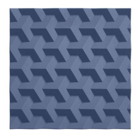 Origami Blue Trivet
