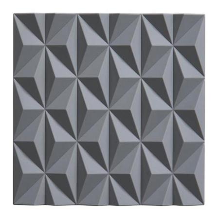 Geometric Grey Trivet