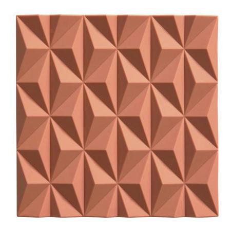 Geometric Peach Trivet