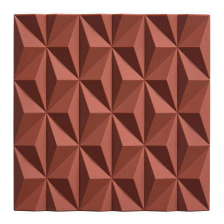 Geometric Pink Trivet