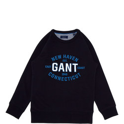 Boys Logo Sweat Top
