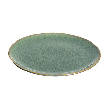 MATERA Ceramic Plate  27cm Green