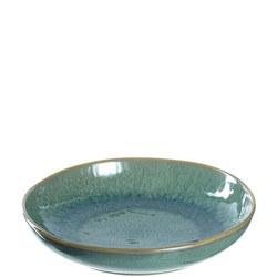 MATERA Ceramic Deep Plate 21cm Green