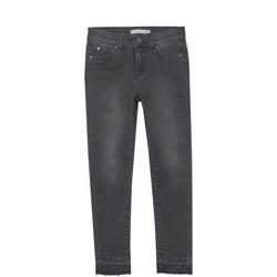 Let Down Hem Skinny Jean