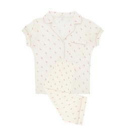 Flamingo Cropped Pyjama Set