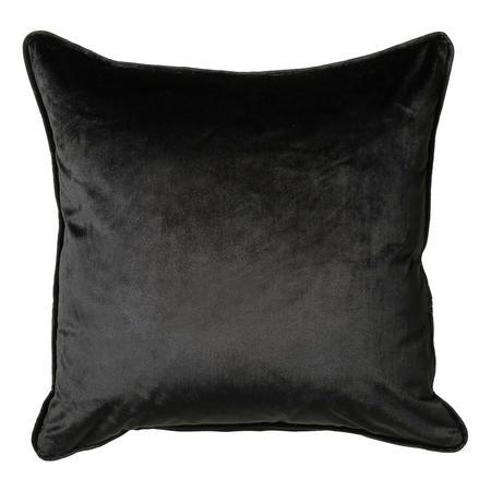 Bellini Velour Cushion Black