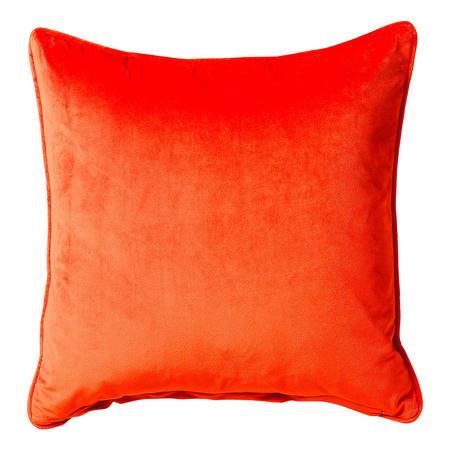Bellini Velour Cushion Orange