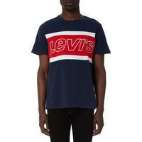 Crew Neck Colour Block T-Shirt