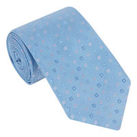 Square-Dot Silk Tie