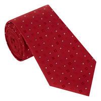 Squaredot Print Tie