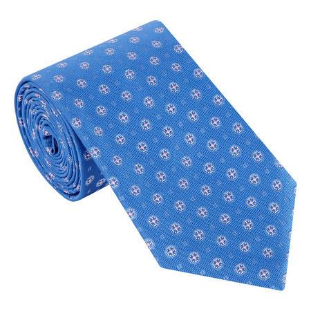 Floral Geometric Tie