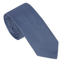 Cross Silk Tie