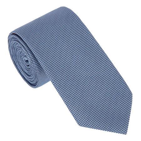 Textured Circle Silk Tie