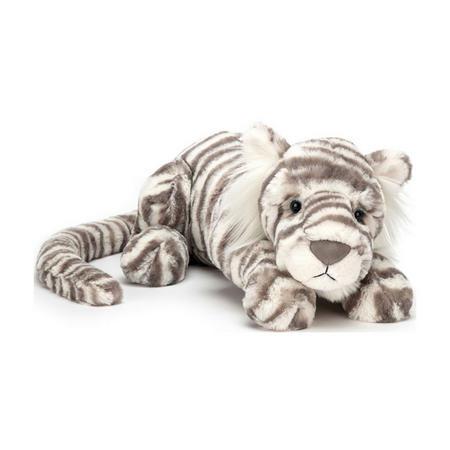 Sacha Snow Tiger 29cm